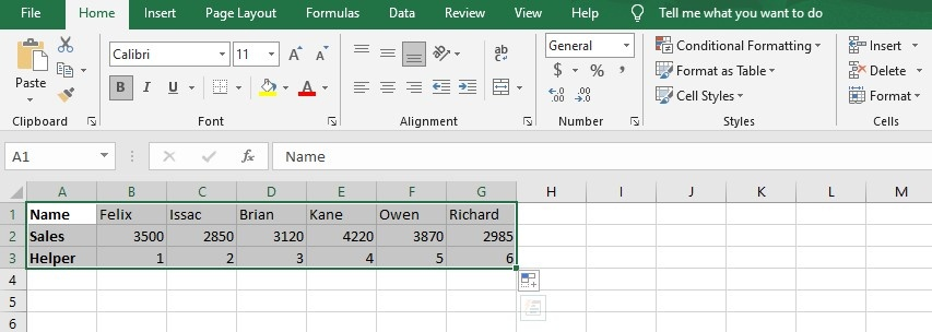 Guide To Flip Data In Excel