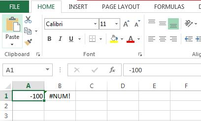 Calculate Square Root In Excel Using SQRT Function